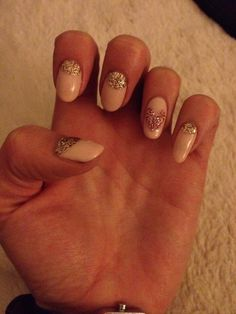#new years eve nails! My gorgeous nails :) by Calgel by Kelly in Norwich x