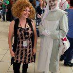 Doctor Who Cosplay: River Song and Nurse  - Denver Comic Con 2014