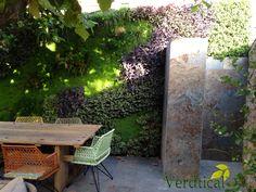 Verdtical - proyecto jardín vertical vivienda horta Barcelona