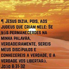 Permaneça na palavra de Deus!!