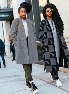 Quann Sisters- www.urbanbushbabes.com Photo: Phil Oh. Street Chic, Street Wear, Street Style, Fashion Story, Star Fashion, Quann Sisters, Twin Models, Pretty Hurts, She Walks In Beauty
