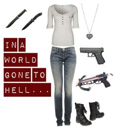 """""""In A World Gone to Hell #1"""" by just-a-breakable-thread ❤ liked on Polyvore"""