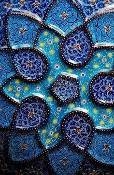 High art Iranian Artist Handicrafts Minakari 2005