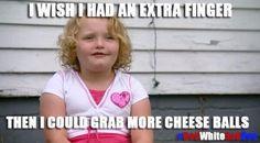 Honey Boo Boo likes cheese. True... true....