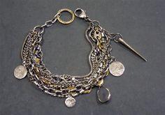 Mix Chain Bracelet by Beth Orduna