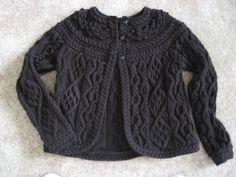 Briar Rose Cardigan. Free pattern! Gorgeous.