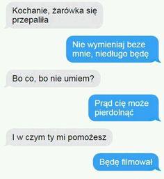 Funny Sms, Very Funny Memes, Funny Text Messages, Wtf Funny, Funny Texts, Hahaha Hahaha, Polish Memes, Best Memes Ever, Cala