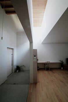 House in Yamanote,designed by Katsutoshi Sasaki + Associates, Toyota, Aichi Prefecture, Japan - 2014.