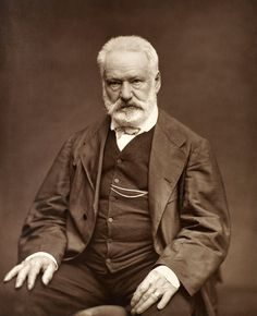 """DID YOU KNOW - On this day (Feb. 25th) in 1802 Victor Hugo was born. Monsieur Hugo is considered one of the greatest and best known of the French writers!  """"To err is human. To loaf is Parisian."""" -- Victor Hugo"""