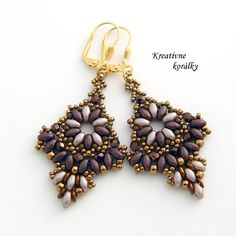 """Caffe Latte"" Earrings from KreativneKoralky. 22.50 £"