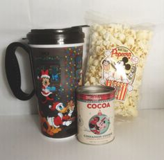 Disney Discovery-  Osborne Christmas Hot Cocoa and Popcorn Pack