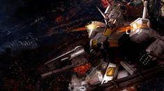 Gundam shootout HD Anime wallpaper