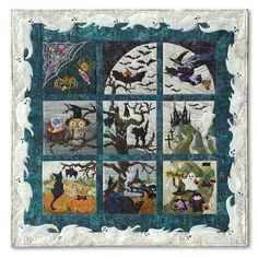Halloweenies quilt pattern by McKenna Ryan
