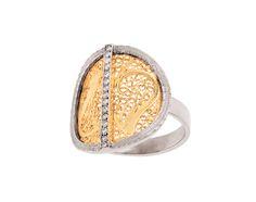 ANEL DECO FILIGREE by Eleuterio jewellery