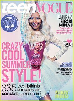 Nicki Minaj Covers Teen Vogue June/July 2013