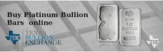 Platinum Bars are an excellent investment and a great way to strengthen your precious platinum metals portfolio. Buy Platinum bullion bars today and start building your wealth effectively. For more info visit at https://texasbullion.com/platinum-bars