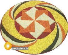 50 Best Pookalam Designs For Onam Festival Rangoli Designs Flower, Colorful Rangoli Designs, Rangoli Designs Diwali, Flower Rangoli, Beautiful Rangoli Designs, Kolam Designs, Flower Designs, Rangoli Colours, Rangoli Patterns
