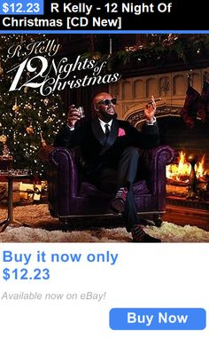 Christmas Songs And Album: R Kelly - 12 Night Of Christmas [Cd New] BUY IT NOW ONLY: $12.23