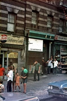 Stationary store, 1522 Amsterdam Avenue, near West 135th Street, NYC. 1970s