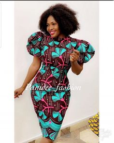 Unique Latest Ankara Styles for Ladies - Olubunmi Mabel Latest African Fashion Dresses, African Print Dresses, African Dresses For Women, African Print Fashion, African Attire, Ankara Fashion, Batik Fashion, Africa Fashion, African Prints