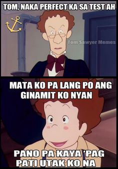 Tagalog Quotes Patama, Tagalog Quotes Hugot Funny, Funny Qoutes, Memes Pinoy, Pinoy Quotes, Funny Reaction Pictures, Funny Pictures, Pick Up Lines Tagalog, Filipino Funny