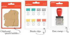 #StudioCalicoPinToWin  The binder clips would be something fun to add to a kit!