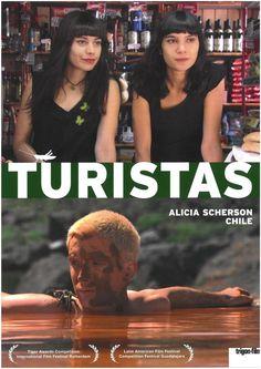 TURISTAS - 2009 - ALICE SCHERSON - CHILE - FILMPOSTER A4