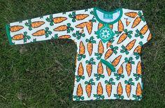 Porkkanat, pitkähihainen paita, joustofrotee