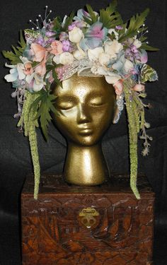 midsummer nights dream crown, by Mimsy Crowns on Etsy