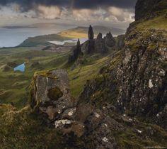 """Шотландия, """"старичок Шторр"""" на острове Скай."""
