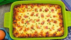 Brambory carbonara - až je ochutnáte, tak už brambory nebudete chtít při... Pasta Carbonara, Hawaiian Pizza, Potato Recipes, Lasagna, Quiche, Food And Drink, Potatoes, Tasty, Breakfast