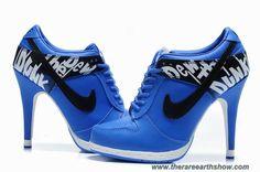 Cheap Nike Dunk SB Low Heels Blue Black Women