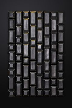 BLOC | design by davidpompa | Barro Negro | black pottery | handmade in México