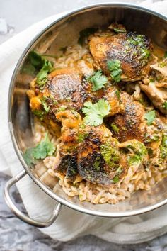Creamy Cilantro Lime Chicken Slow Cooker Times, Slow Cooker Recipes, Crockpot Recipes, Cooking Recipes, Slow Cooking, Delicious Recipes, Lime Chicken Recipes, Chicken Flavors, Lamb Recipes