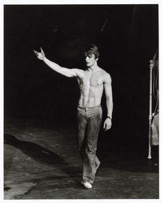 Mikhail Baryshnikov in Roland Petit's 'Le Jeune Homme et la Mort' (The Young Man and Death), 1975