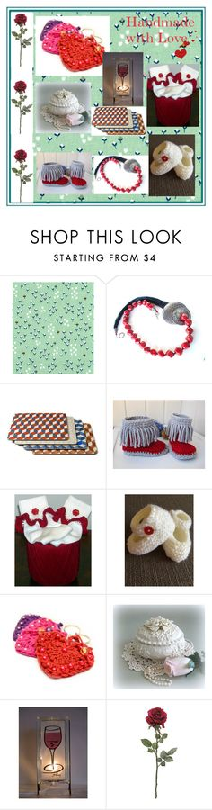"""""""Handmade Valentine Gifts"""" by glowblocks ❤ liked on Polyvore featuring interior, interiors, interior design, home, home decor and interior decorating"""