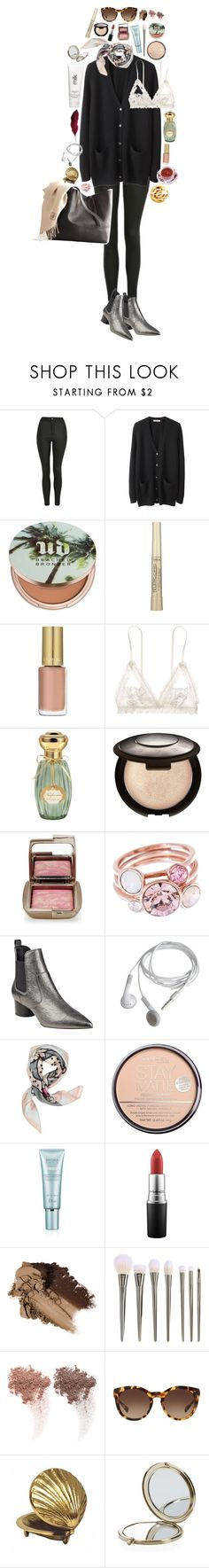 """""""Black #5"""" by triomphevictorieuse ❤ liked on Polyvore featuring Topshop, Organic by John Patrick, Urban Decay, L'Oréal Paris, Hanky Panky, Annick Goutal, Becca, Hourglass Cosmetics, Ted Baker and Kendall + Kylie"""