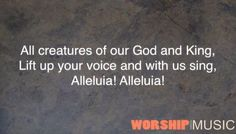 All Creatures of Our God and King (455) by Music@belpres. Hymn - Worship through Music - May 20, 2012