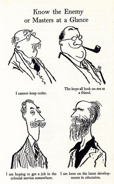 Teachers (1) by Brian Sibley, via Flickr - Ronald Searle