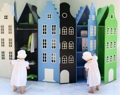 Unusual and Nice Kids Closets and Beds for Cool Boys and Girls Bedrooms – Kast van een Huis | Kidsomania
