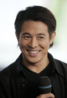 Jet Li, with the cutest smile ever