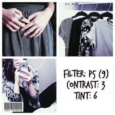 black and white instagram feed VSCO filter P5