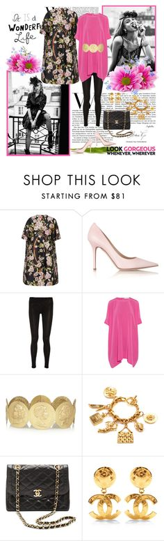 """""""It's a wonderful life"""" by angelicallxx ❤ liked on Polyvore featuring Dolce&Gabbana, Jimmy Choo, Splendid, Richard Nicoll, Chanel, jimmychoo and dolcegabbana"""