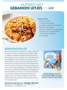 Hutspot met gebakken uitjes en kip - Lidl Nederland