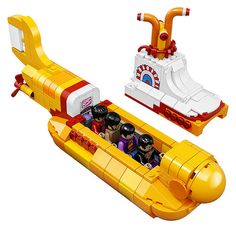 LEGO has officially announced the newest LEGO ideas set with the The Beatles Yellow Submarine (21306).
