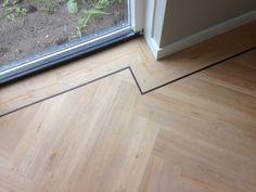 Visgraat PVC vloer - reeds gelegd in Alkmaar | Parketmeester.nl