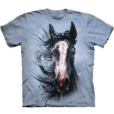 Storm Chaser Horse Classic Short Sleeve T-Shirt - American Expedition