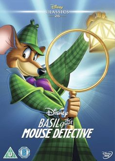 Basil the Great Mouse Detective (1986) (Special Edition Artwork Sleeve) [DVD]