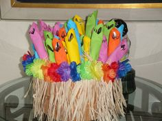 Hawaiian Luau Party Ideas | Ingrid Rhodes Styled Events: Blue Hawaii Luau Preperations....