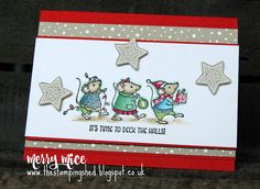 The Stamping Shed: Happy World card making day!